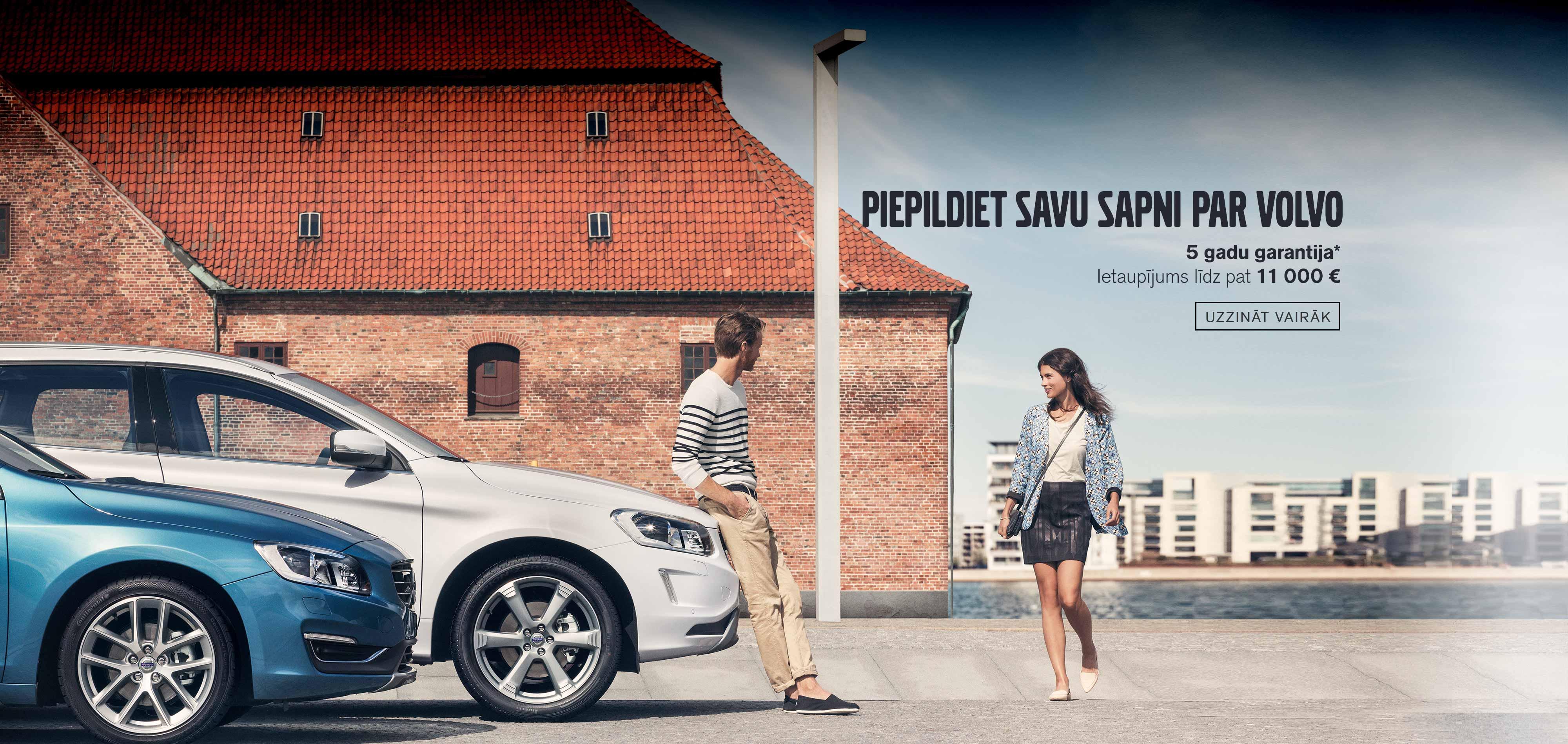 Piepildiet savu sapni par Volvo!