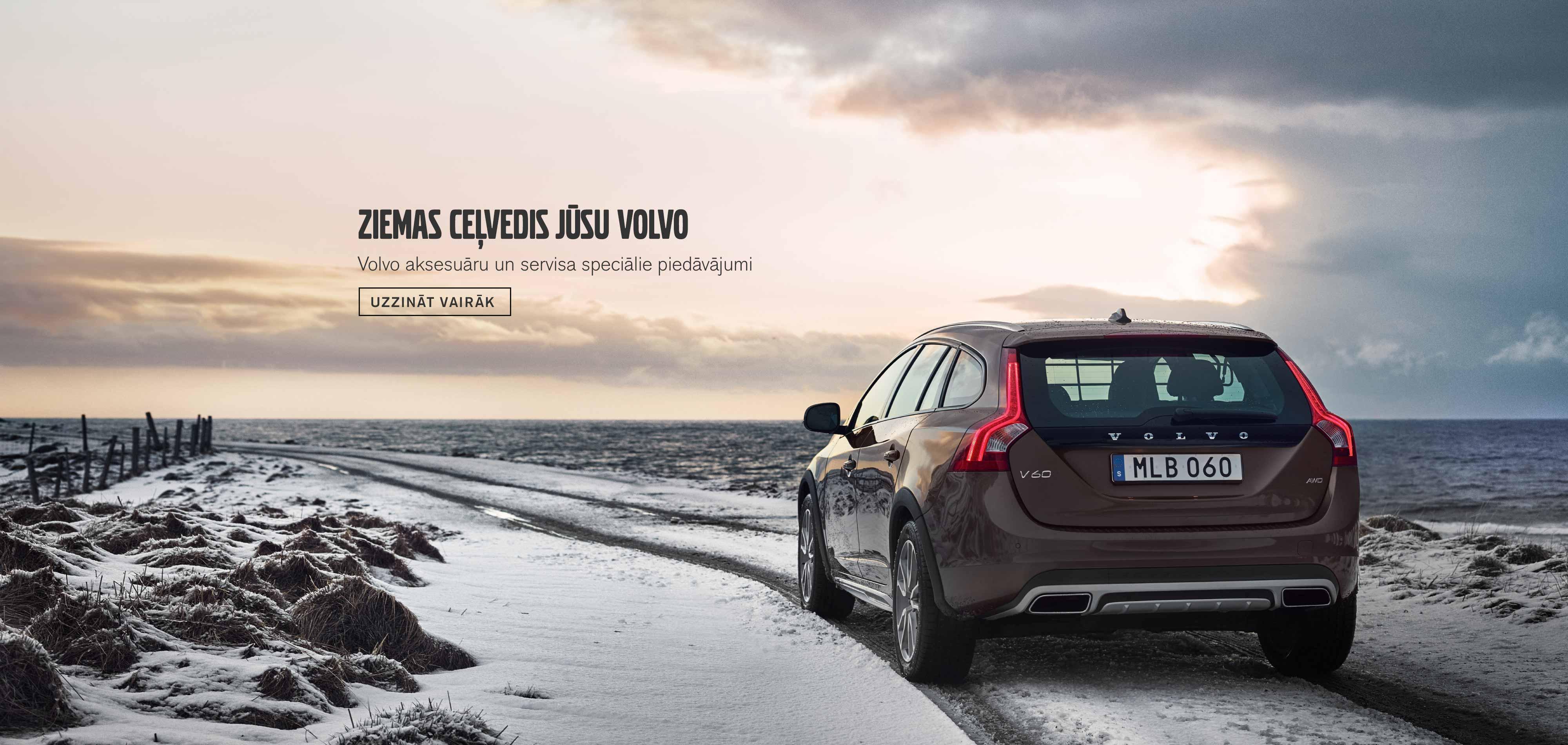 Ziemas ceļvedis jūsu Volvo