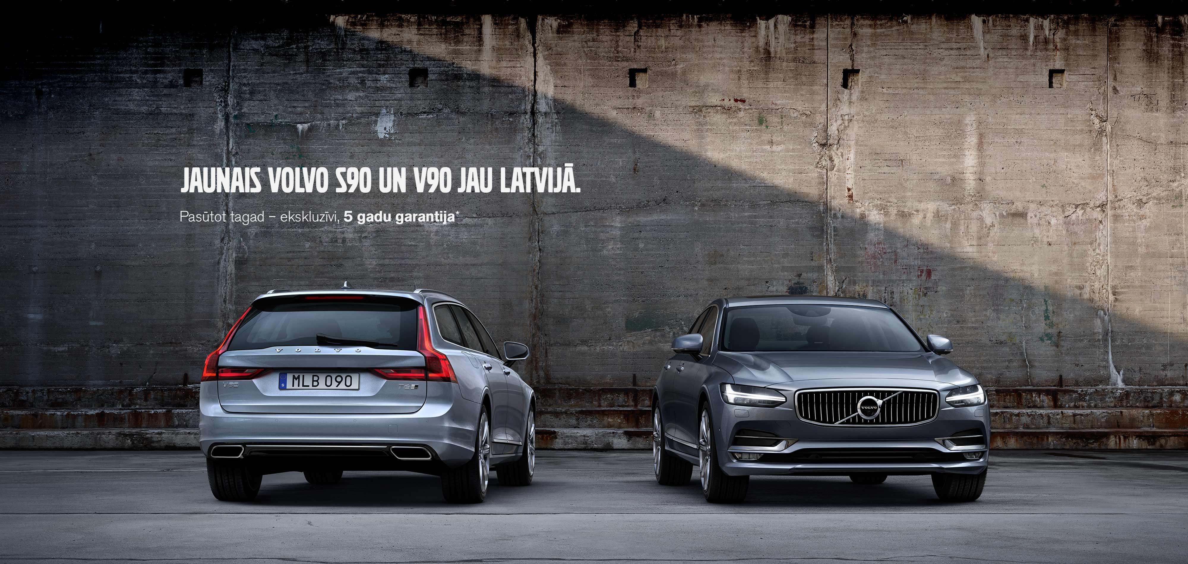 Volvo S90 un V90
