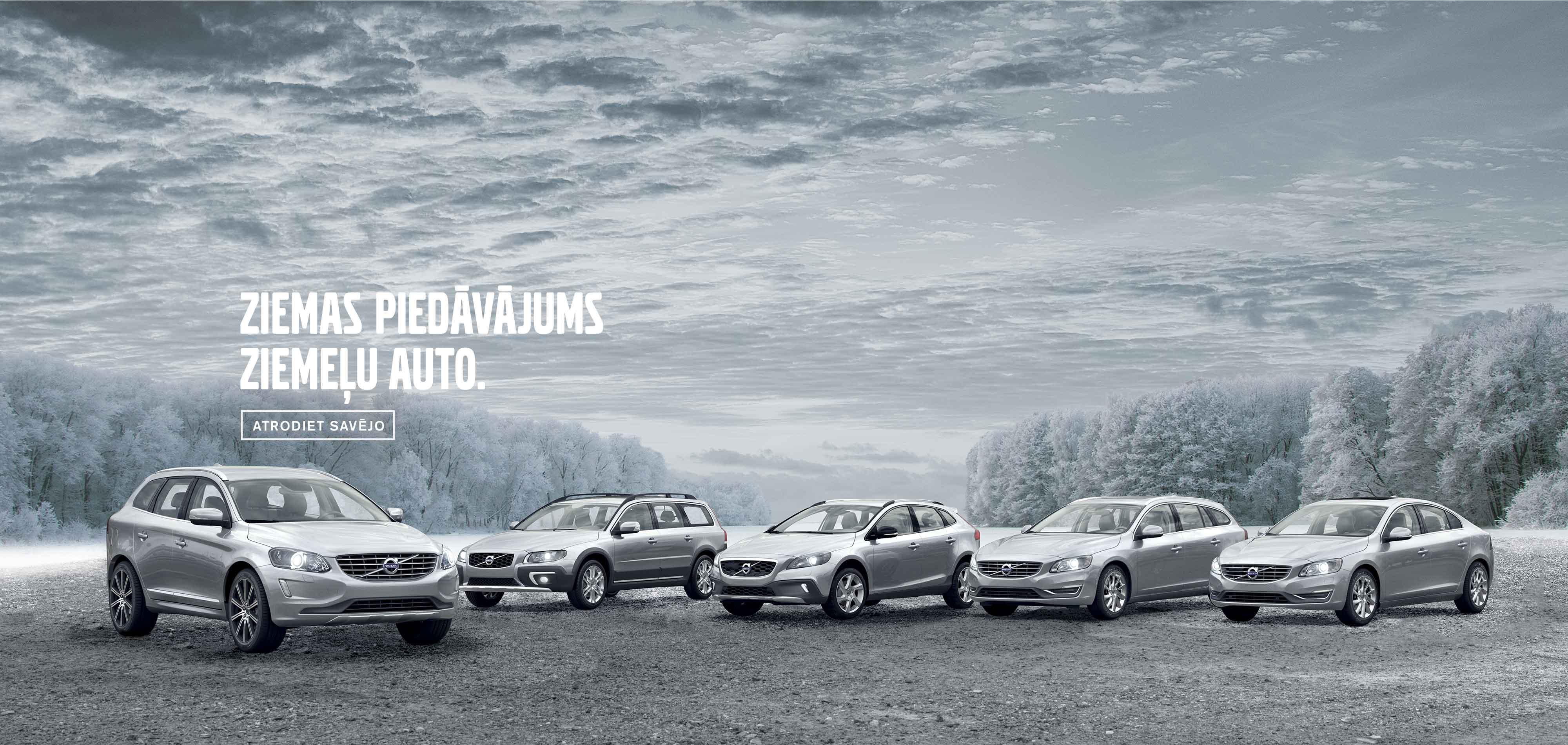 Ziemas piedāvājums ziemeļu auto