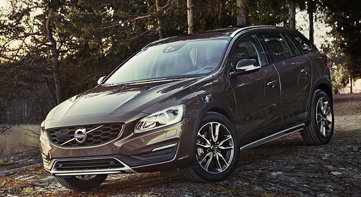 Jaunais Volvo V60 Cross Country
