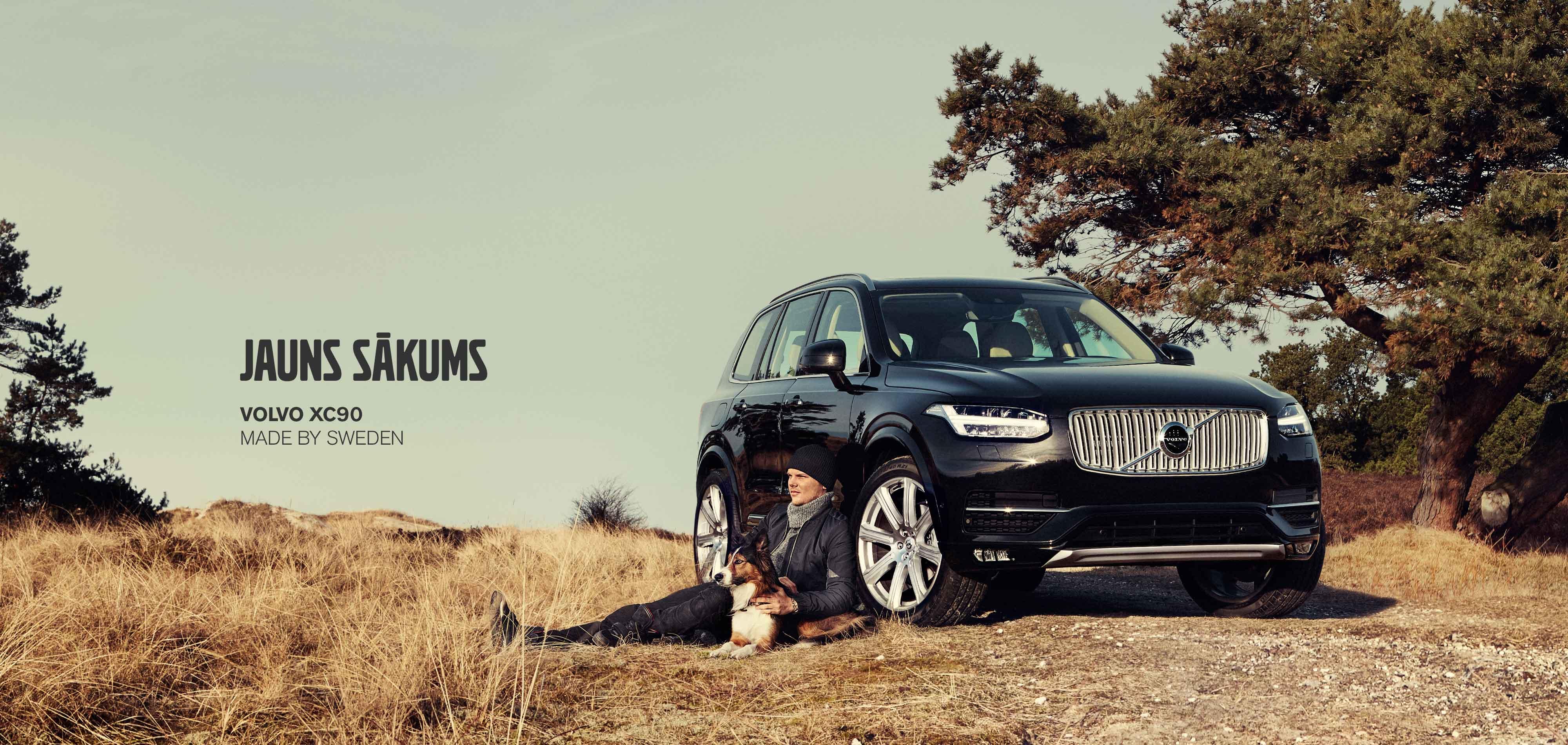 Jaunais Volvo XC90