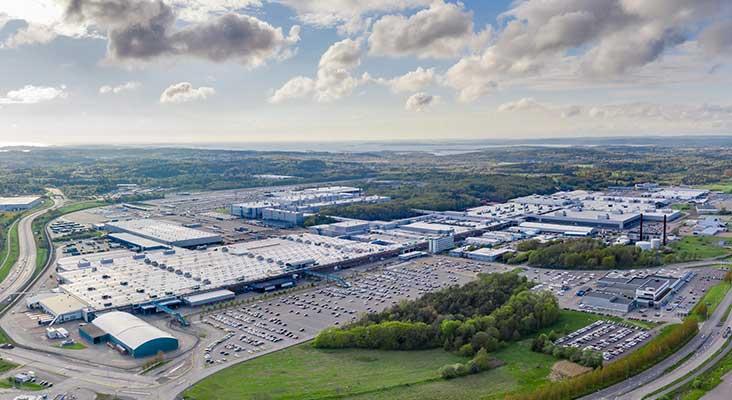 Volvo Cars Torslandas ražotne kļūst par uzņēmuma pirmo klimatneitrālo automobiļu ražotni