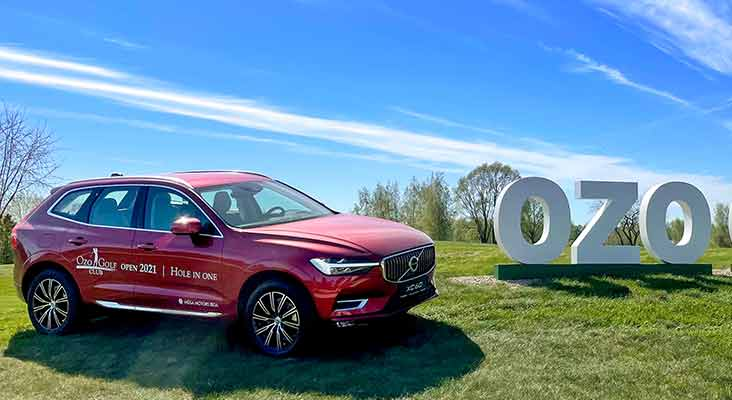Ozo Golf Club 2021. gada sezonu aizvadīs sadarbībā ar Volvo