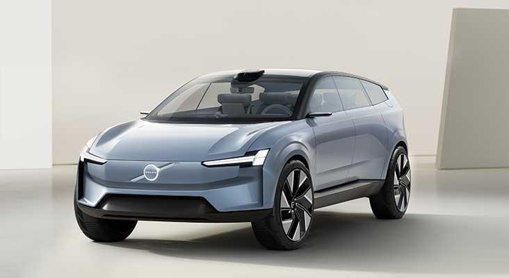 Volvo jaunais Concept Recharge ir manifests Volvo Cars pilnībā elektriskai nākotnei
