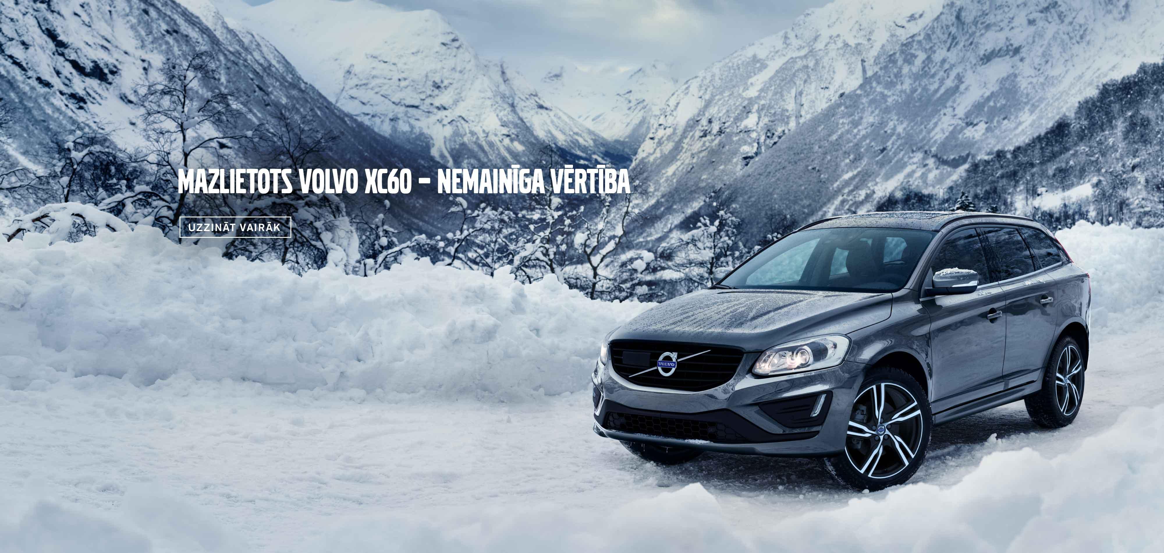 Mazlietots Volvo XC60 – nemainīga vērtība!
